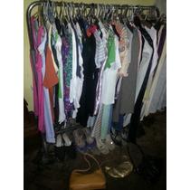 Lote 80 Prendas, Pantalones, Carteras, Sapatos, Remeras