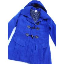 Bonito Saco Blazer Mongomery Azul Mujer Nuevo Talle L