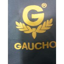 Campera Lluvia Y Pantalón De Pvc Gaucho Color Gris Oscuro Xl