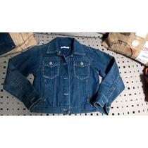 Campera Jeans Mimo T: 10 Niña Como Nueva 12 Cuotas S/interes