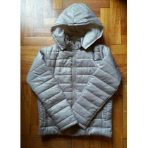 Campera Inflable Mujer Capucha Desmontable Showroom Palermo