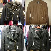 Camperas/chaquetas Cuero/tela Antes $1200 Tmb Talles Grandes