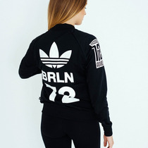 Adidas Campera Pantalon Remera Mujer Originales! M 3 Prendas