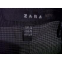 Saco Corderoy Negro Marca Zara Agregue Fotos
