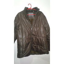 Campera De Pluma Tipo Inflable Ufo New York Impecable