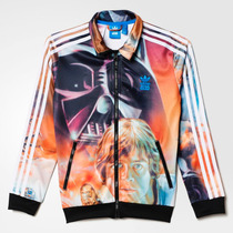 Campera Adidas Star Wars Unica!! Talle S !! Directo De Usa!