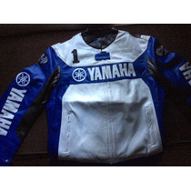 Campera Moto Yamaha Cuero