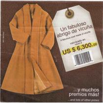 Tapado De Vicuña Kuna Original Peruano