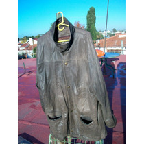 Cuero Marron Paris Dakar Argentina Talle 56 100 % Leather