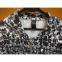Campera Estirable Marca Class Life Black And White