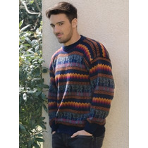 Sweaters Pullover De Lana De Alpaca Exclusivos Hombres