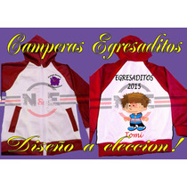 Camperas Egresaditos, Combinacion Colores A Eleccion !!!