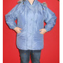 Campera Impermeable C/ Capucha Mujer Gamuzada Talle 42-44