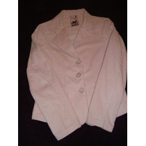 Complot Blazer Saco Corderoy Pink Small Exclusivo Alice Sale