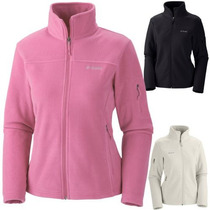 Campera Columbia Termica Polar Fast Trek Outdoor Dama