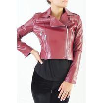 Campera Simil Cuero Con Cierres, Activity