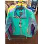 Campera Athix Softshell Verde Impermeable Termica Dama