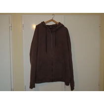 Campera Buzo Canguro Rip Curl Color Marron Talle L