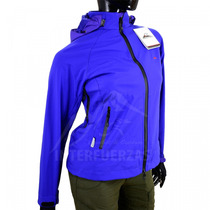 Campera Dama Mujer Soft Shell Neoprene Impermeable Montagne