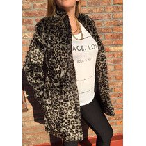 Tapado Animal Print , Simil Piel Divino