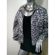 Campera Liviana Animal Print Divina!