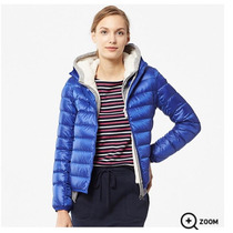 Uniqlo Campera Ultra Down Hooded Jacket Con Capucha Mujer