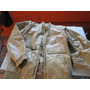 Campera De Cuero Color Beige Talle 44 * Retro *