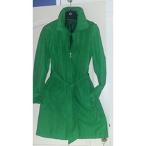 Trench Campera Piloto Lluvia Importado Impermeable Mujer