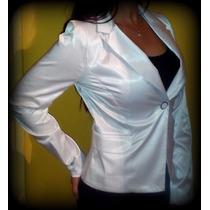 Blazer/saco/chaqueta/blanco/mujer/divino.!!