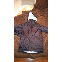 Campera Negra Northland Mujer, Talle 36. Sin Uso.