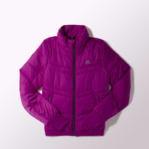Campera Adidas Abrigo Acolchada Mujer Fucsia Deporfan