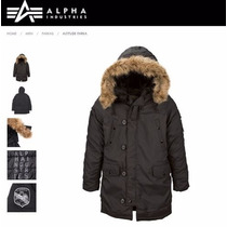 Campera Alpha Industries Altitud Parka N3b Aviadora Original