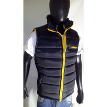 Campera Hombre Chaleco Inflable
