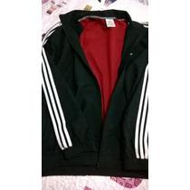 Campera Adidas Red Importado Único Original T.l Rompeviento