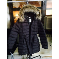 Hollister By Abercrombie Campera Parka Sweater Tapado Buzo