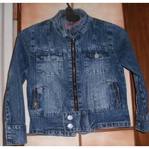 Campera Azul De Jean (infantil). Talle 6. (marca Gr2)