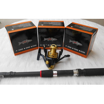 Combo Red Fish - Caña Telescopica 2.10 Mts. + Reel Bp2000