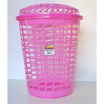 Canasto Plastico O Cesto Ropa Ideal Para Lavaderos O Baños
