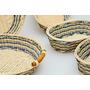 Canastos Ovalados Made In Vietnam Set De 5