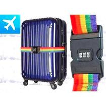 Cinturon De Valija Con Combinacion Clave Identificador Viaje