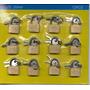Set De Candados P/valija 20mm X12 Pcs.#