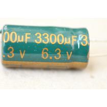 Capacitor Electrolitico 3300uf X 6.3v (250 Pcs) - Lowesr