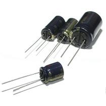 Capacitor Bajas Pérdidas 820uf 25v 105°c Clase A (3 Unid)