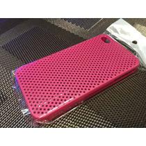 Case Plástico Iphone 4 Color Rosa