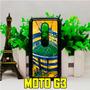 Carcasa Motorola Moto G3 X X2 E E2 Boca Juniors 12creativo