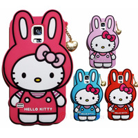 Carcasa 3d Samsung Galaxy S5 Hello Kitty Rabbit ! Divinas !