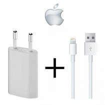 Cargador De Pared Iphone 5 5s 5c 6 Ipad 4 5 + Usb Lightening