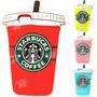 Funda Silicona Animada 3d Iphone 6 6 Plus Vaso Starbucks