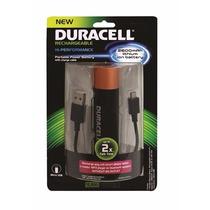 Cargador Portatil Duracell Celular Power Bank Original 2600m