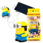 Cargador Portatil Power Bank 3200mh Minion Kitty Wazowski